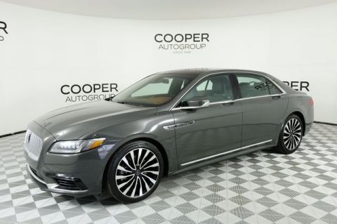 Certified Pre-Owned 2017 Lincoln Continental Black Label