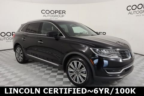 Certified Pre-Owned 2016 Lincoln MKX Black Label