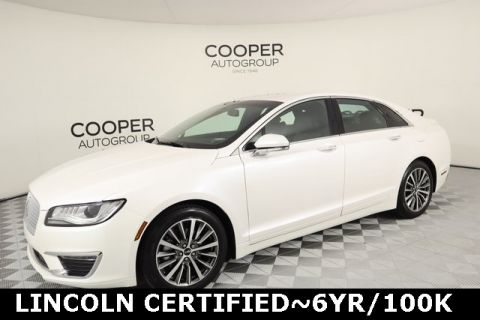 Certified Pre-Owned 2017 Lincoln MKZ Hybrid