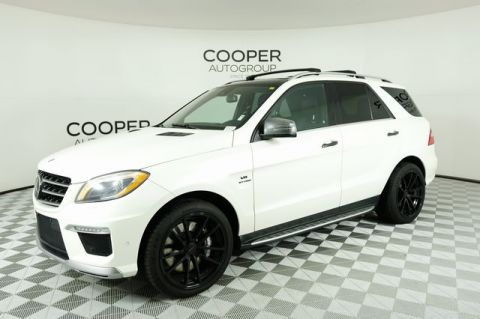Pre-Owned 2014 Mercedes-Benz M-Class ML 63 AMG®