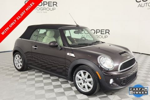 Pre-Owned 2015 MINI Cooper S Convertible